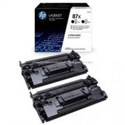HP CF287XD Toner Bk 18k No.87X Eredeti HP kellékanyag cikkszám: CF287XD