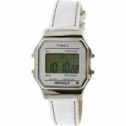 Ceas unisex Timex Originals argintiu Leather Quartz TW2P76800