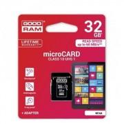 GOODRAM/TOSHIBA 32 GB microSDHC/TransFlash MEMÓRIA KÁRTYA (Class 10) + SD - GYÁRI