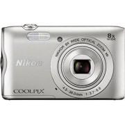 Digitalni foto-aparat SET Nikon A300, Srebrna, Set (sa futrola Vail 10 crna)
