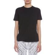 【70%OFF】クルーネック 半袖Tシャツ ブラック xs ファッション > レディースウエア~~その他トップス