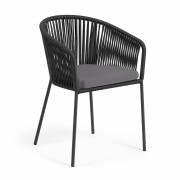Kave Home Silla Yanet negro