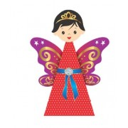 Beautiful Paper Doll Angelina - 20 Dolls in 1 Pack