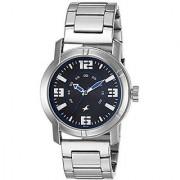 Fastrack Quartz Blue Round Men Watch 3021SM03