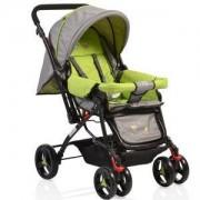 Бебешка лятна количка Moni Mina, зелена, 3560401