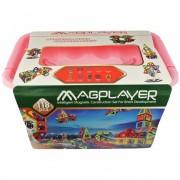 Joc de constructie magnetic 118 piese Magplayer