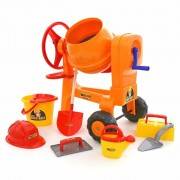 Polesie Toy Cement Mixer Orange 1450690