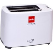 Cello Quick Pop 300 700 W Pop Up Toaster(White)