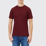 Diesel Men's T-Just Pocket T-Shirt - Sassafras - L - Burgundy