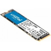 Crucial P1 500 GB Desktop, Laptop Internal Solid State Drive ((CT500P1SSD8) NAND)