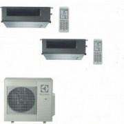 Electrolux CLIMATIZZATORE CONDIZIONATORE ELECTROLUX CANALIZZABILE DUAL 9+18 INVERTER EXU27JEWI DA 9000+18000 BTU
