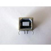 Ъглова букса USB B - за монтаж на платка, за принтер