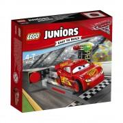 LEGO Juniors - Cars 3, Lansatorul de viteza Fulger McQueen 10730
