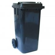 Kosz na śmieci, odpady 120l - czarny