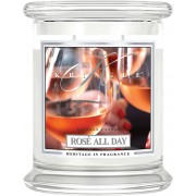 Kringle Candle Rosé All Day 2 Wick Medium Jar 411 g
