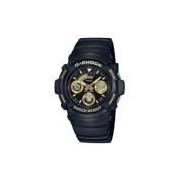 Relógio Cássio G-Shock AW-591BB - Masculino - PRETO/OURO Casio G-Shock