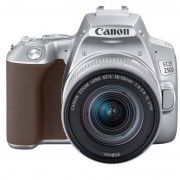 Canon 250D 24MP WiFi Prateada + Objetiva EF-S 18-55mm F4-5.6 IS STM