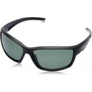 Fastrack Wrap-around Sunglasses(Green)
