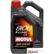 Ulei motor MOTUL 8100 X-Clean 5W30 5L