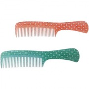 The Handmade Comb - Fine and Coarse Toothed Pocket Comb(Pack of 2)