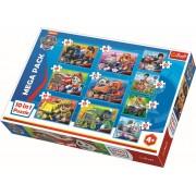 Puzzle clasic pentru copii - Patrula Catelusilor 10 in 1