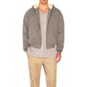 Fear of God Heavy Terry Alpaca Hoodie in Gray. - size M (also in L,S,XL)