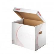 Archiváló konténer, karton, felfelé nyíló, ESSELTE \Standard\, fehér