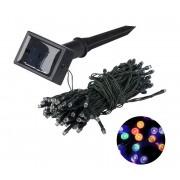Grundig 2 - Lanț solar LED 50xLED/1,2V IP44 multicolor IP44