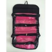 Cierie Cosmetics and Toiletries Travel Toiletry Kit(Black)