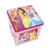 Disney Hercegnők játéktároló doboz tetővel pink