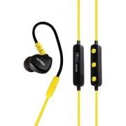 Intex BT-13 Wireless Sports Bluetooth Earphones - Yellow With HI-FI Microphone