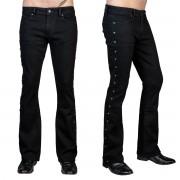 Pantalon (jeans) pour homme WORNSTAR - Gauntlet Skull - Noir - WSGP-GLTSK