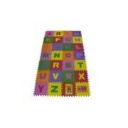Tapete alfabeto em eva para crianças 28 peças infantil