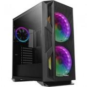 Case Antec E-ATX Gaming NX800 RGB Temp Glass Black