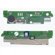 Placa com Microfone e Vibrador Sony Xperia M2 Aqua, Sony D2303, D2403