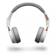 Слушалки Plantronics BACKBEAT 500, безжични, микрофон, бели