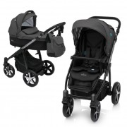 Baby Design Husky carucior multifunctional 2in1 Winter Pack 0m+ Black