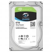 Seagate Segate HDD SkyHawk 6TB 256MB 7.2K 3.5' SATA 3-yr limited warranty