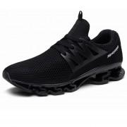 Zapatos Deportivos Amortiguación Para Unisex TK10 - Negro