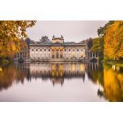 Warszawa Pałac na Wodzie Jesienny Pałac - plakat premium