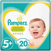 Pampers Premium Protection - Maat 5+ (Junior+) 12-17 kg - 20 Stuks - Luiers