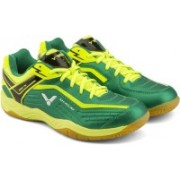 Victor Badminton Shoes For Men(Green)