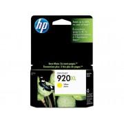 HP Cartucho de tinta Original HP 920XL de Alta Capacidad CD974SE Amarillo para Officejet 6000, 6000 E609a, 6500, 6500 E709a, 6500A, 6500A E710a, 7000...