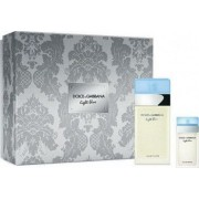 Apa de Toaleta Light Blue by Dolce and Gabbana Femei 100ml + Apa de Toaleta 25ml