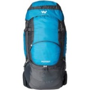 Wiki by Wildcraft Wildcraft Pandim 45 Wildcraft Alg Blue Rucksacks Rucksack - 45 L(Blue)