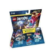 Set Lego Dimensions Level Pack Back To The Future