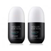 ANNE MOLLER FOR MAN FLASHTEC DEO TRIPLE ACTION CONTROL 75 ML x 2 UDS OFERTA