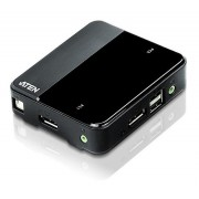 Switch KVM DisplayPort USB a 2 porte 4K UHD, CS782DP