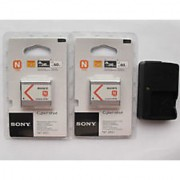 2x Sony NP-BN1 Battery BC-CSN Charger For TX1 TX5 TX7 W380 W350 W320 W310 came