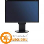 "NEC MultiSync EA221WM-BK, 55,9 cm / 22"", 1680x1050 Pixel (generalüberholt)"